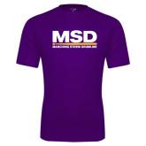 Performance Purple Tee-MSD
