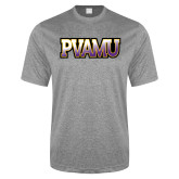 Performance Grey Heather Contender Tee-PVAMU