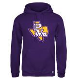 Russell DriPower Purple Fleece Hoodie-PVAM Texas