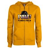 ENZA Ladies Gold Fleece Full Zip Hoodie-Track & Field