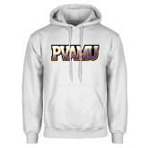White Fleece Hood-PVAMU