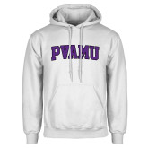 White Fleece Hood-Arched PVAMU