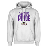 White Fleece Hood-Panther Pride