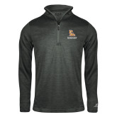 Russell Charcoal Heather 1/4 Zip-PVAM Stacked