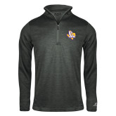 Russell Charcoal Heather 1/4 Zip-PVAM Texas