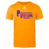Adidas Gold Logo T Shirt-PV Marching Storm Band