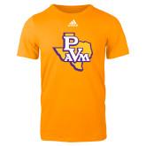 Adidas Gold Logo T Shirt-PVAM Texas