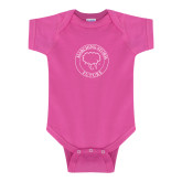 Fuchsia Infant Onesie-Marching Storm Cloud Circle - Future