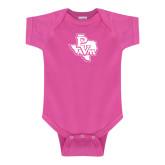 Fuchsia Infant Onesie-PVAM Texas