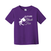 Toddler Purple T Shirt-Future Black Fox