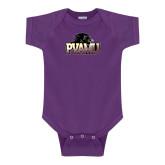 Purple Infant Onesie-Official Logo