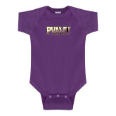 Purple Infant Onesie-PVAMU