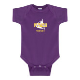 Purple Infant Onesie-Future Twirling Thunder