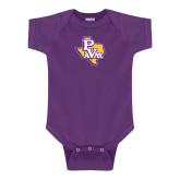 Purple Infant Onesie-PVAM Texas