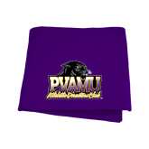 Purple Sweatshirt Blanket-Athletic Directors Club