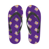 Ladies Full Color Flip Flops-PVAM Texas