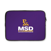 13 inch Neoprene Laptop Sleeve-MSD w/ PVAM Logo