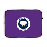 13 inch Neoprene Laptop Sleeve-Marching Storm Cloud Circle