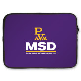 15 inch Neoprene Laptop Sleeve-MSD w/ PVAM Logo