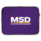 15 inch Neoprene Laptop Sleeve-PVAMU Twirling Thunder Logo