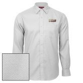 Red House White Non Iron Diamond Dobby Long Sleeve Shirt-PVAMU