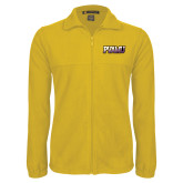 Fleece Full Zip Gold Jacket-PVAMU