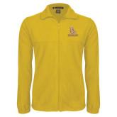 Fleece Full Zip Gold Jacket-PVAM Stacked