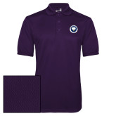 Purple Dry Mesh Polo-Marching Storm Cloud Circle - Fan