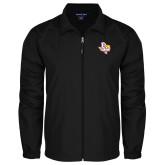 Full Zip Black Wind Jacket-PVAM Texas