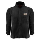 Fleece Full Zip Black Jacket-Athletic Directors Club