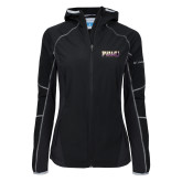 Columbia Ladies Sweet As Softshell Black Jacket-PVAMU