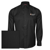 Red House Black Herringbone Long Sleeve Shirt-Grandpa