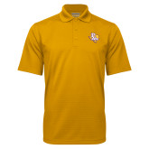 Gold Mini Stripe Polo-PVAM Texas