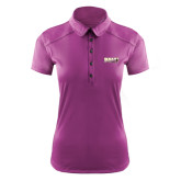 Ladies Ogio Deep Purple Pleated Back Polo-PVAMU