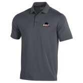 Under Armour Graphite Performance Polo-Official Logo