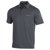 Under Armour Graphite Performance Polo-PVAMU Twirling Thunder Script