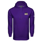 Under Armour Purple Performance Sweats Team Hoodie-Athletic Directors Club