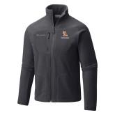 Columbia Full Zip Charcoal Fleece Jacket-PVAM Stacked