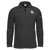 Columbia Full Zip Charcoal Fleece Jacket-PVAM Texas