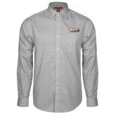 Red House Grey Plaid Non Iron Long Sleeve Shirt-PVAMU