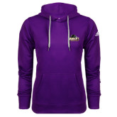 Adidas Climawarm Purple Team Issue Hoodie-Official Logo