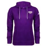 Adidas Climawarm Purple Team Issue Hoodie-MSD Alumni