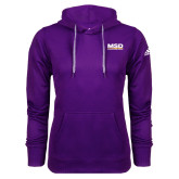 Adidas Climawarm Purple Team Issue Hoodie-MSD