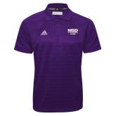 Adidas Climalite Purple Jacquard Select Polo-MSD Alumni