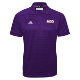 Adidas Climalite Purple Jacquard Select Polo-MSD