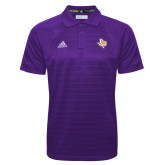 Adidas Climalite Purple Jacquard Select Polo-PVAM Texas