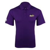 Adidas Climalite Purple Game Time Polo-Official Logo