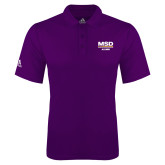 Adidas Climalite Purple Game Time Polo-MSD Alumni