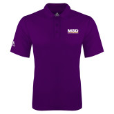 Adidas Climalite Purple Game Time Polo-MSD