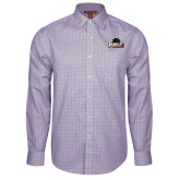 Red House Purple Plaid Non Iron Long Sleeve Shirt-Official Logo